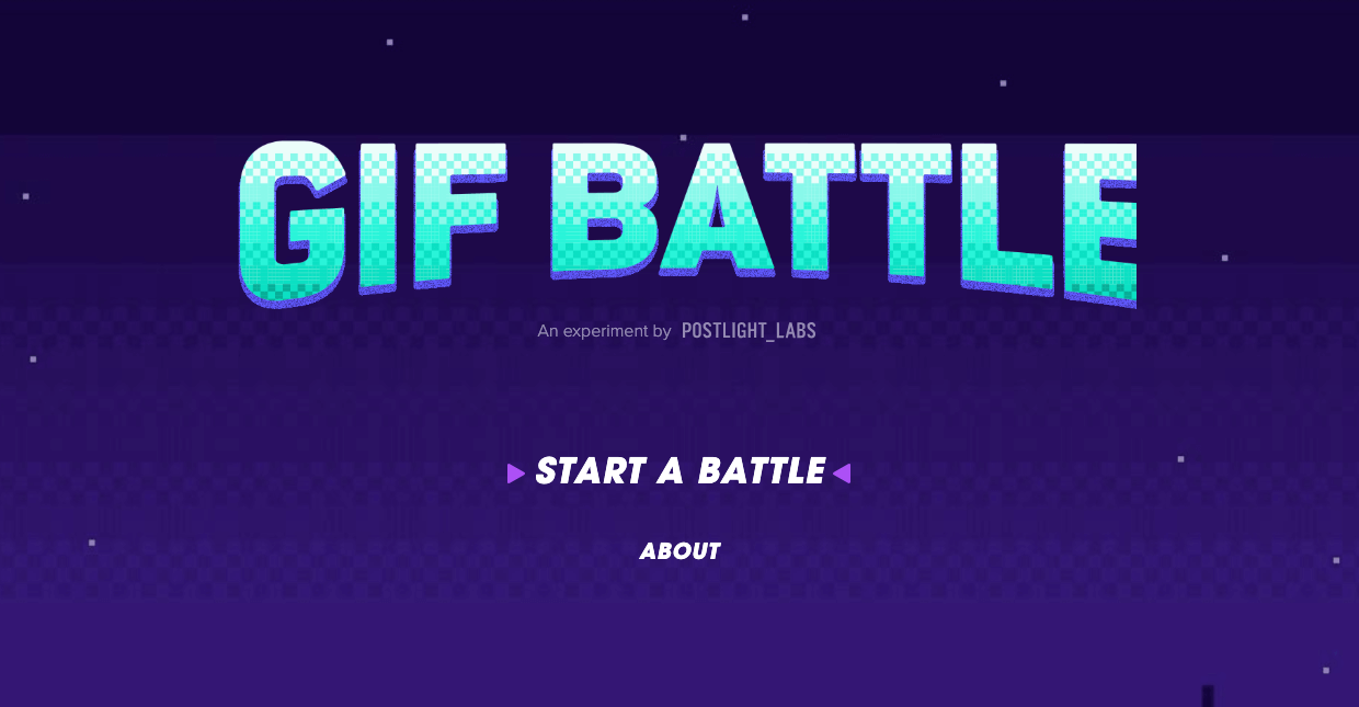 How We Used React to Build GIF Battle — Postlight — Digital