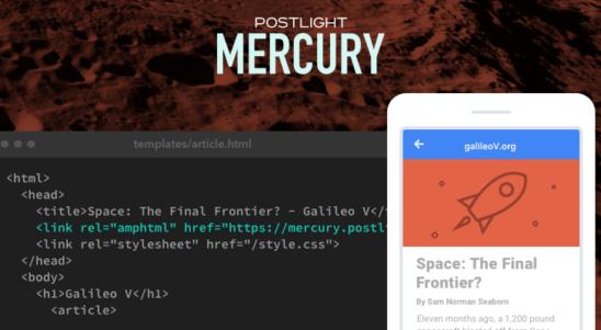 Introducing Postlight Mercury—An Easy, Free AMP Converter