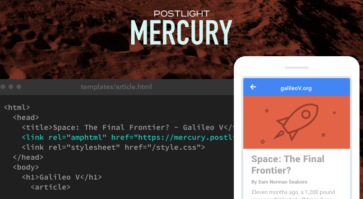 Introducing Postlight Mercury—An Easy, Free AMP Converter