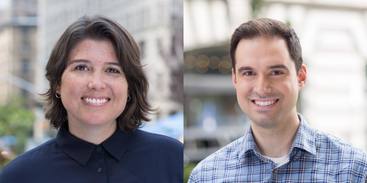 Gina Trapani and Chris LoSacco headshots
